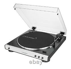 Refurbished Audio-Technica AT-LP60XBT Bluetooth Turntable Record Player White