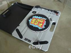 Reloop SPIN Portable DJ Turntable with Bluetooth Input, USB Recording, 7'' Vinyl