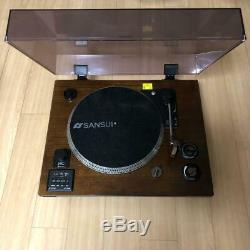 SANSUI SLP-5000BT Record Player Built-in amplifier/speaker Bluetooth compatible