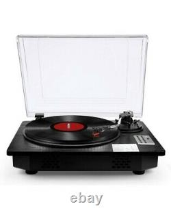 Seeying Vinyl Record Player Turntable with Speakers and Bluetooth Input Output