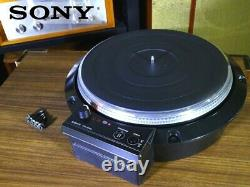 Sony TTS-8000 Turntable Record Player Very Good From Japan