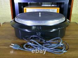 Sony TTS-8000 Turntable Record Player Very Good From Japan /Used