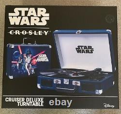 Star Wars Crosley Bluetooth Record Player