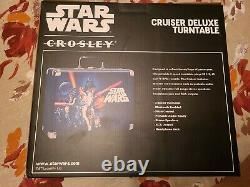 Star Wars Crosley Cruiser Deluxe Turntable Record Player