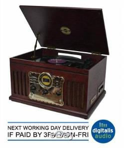 Steepletone Westminster DAB 7in1 Bluetooth Music Centre Record CD USB Encoding