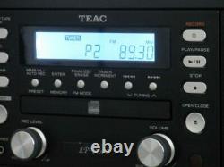 TEAC LP-R500E Walnut CD Recorder / Record Player/ Cassette /FM/AM Radio Speakers