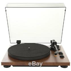 TEAC TN-280BT Turntable Bluetooth MM Phono Walnut Record Player