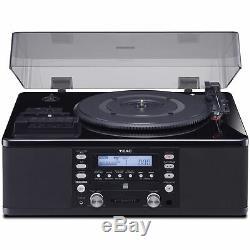 Teac LP-R660USB-PB Turntable with USB, CD Recorder, Cassette Deck & AM/FM Tuner