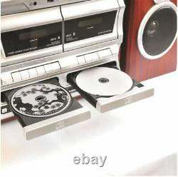 TechPlay ODCR2110 BT, High power turntable, WithDual CD Player/Recorder