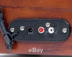 TechPlay TCP9560 Record Turntable Retro Stereo System Bluetooth CD Walnut REFURB