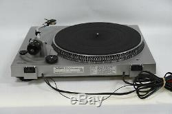 Technics SL-D2 Direct Drive Turntable/Record Player with Manuals Made in Japan