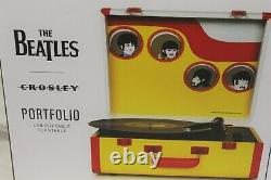 The Beatles Yellow Submarine Crosley Turntable RSD2021 Record Player + LP
