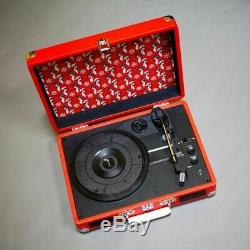 Third Man Records We're Going to Be Friends Deluxe Crosley Portable Turntable