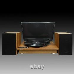 Toshiba Vinyl Record Player Turntable 12 3-Speed Bluetooth Turntables Stereo