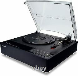 Toshiba Vinyl Record Player Turntable 7.7 3-Speed Bluetooth Turntables Stere