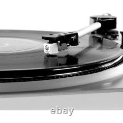 Turntable Victrola Record Player VPro-2000 USB for DJ & audio enthusiast silver