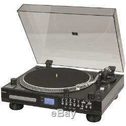 Turntable with CD Player & USB/SD Record To USB SD Bluetooth