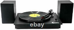 VINYL MUSIC ON Bluetooth Vinyl Record Player with Powerful External Speakers
