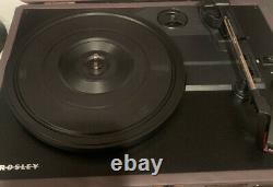 Very Rare Dogfish Head Crosley Portable Turntable Vinyl Record Player Bluetooth