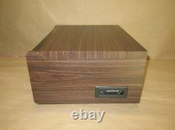 Victrola 6-in-1 Wood Bluetooth Mid Century Record Player with 3-Speed Turntable