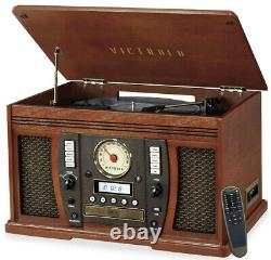 Victrola Aviator 8-in-1 Bluetooth Record Player & Multimedia Center