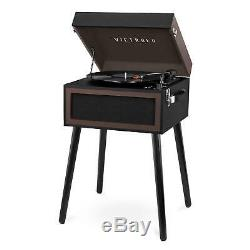 Victrola Bluetooth Record Player Stand with 3-Speed Turntable -Choose Your Color