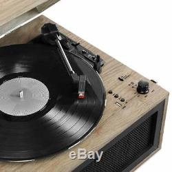 Victrola Liberty Bluetooth Record Player Stand with 3-Speed Turntable