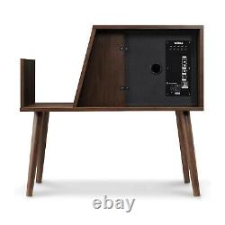 Victrola Record Holder with Bluetooth Connectivity & Speakers, Espresso (Open Box)