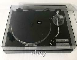 Yamaha Record Player Turntable Vintage YP-D7 Rare Analog Black with Cartridge
